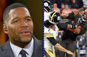 michael strahan: myles garrett incident 'will not define him'