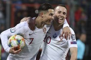Ronaldo scores 99th goal as Portugal qualifies for Euro 2020