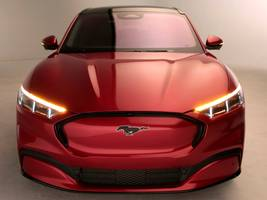 elon musk congratulated ford on its all-electric mustang mach-e suv, a threat to tesla