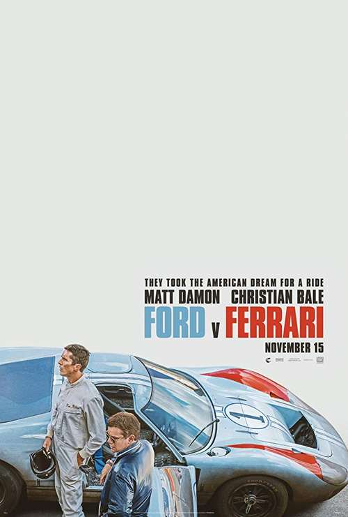 MOVIE REVIEW: Ford v Ferrari (Le Mans '66)