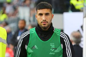 emre can 'not happy' at juventus amid man utd links