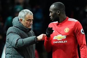 jose mourinho was warned against signing 'big baby' romelu lukaku at man utd