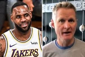 lebron james dubbed 'greatest athlete to walk planet' by coach steve kerr