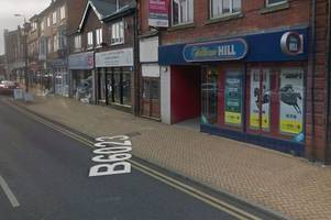 Man charged after robbery at William Hill betting shop