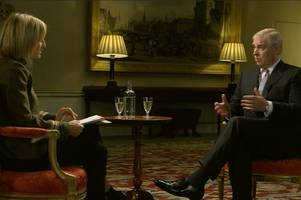 prince andrew tells the queen 'disastrous' bbc newsnight interview was 'great success'