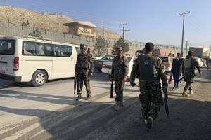 back-to-back blasts hit afghan capital; at least 4 wounded