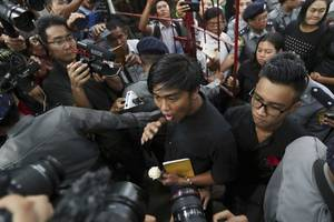 "myanmar: satire performers convicted of more ""ludicrous"" charges"