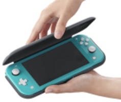 nintendo news: help protect your screen with the nintendo switch lite flip cover & screen protector