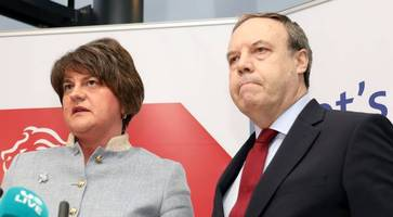 general election: dup's dodds condemns finucane banners and challenges sf to follow example