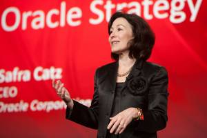 Safra Catz will remain Oracle's sole CEO while the company grooms a new exec to replace the late Mark Hurd as co-CEO (ORCL)