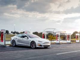 a tesla supercharger station caught fire at a wawa in new jersey (tsla)