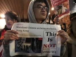 As Hong Kong Crisis Worsens, Divided NYC Protesters Converge At NYU Event