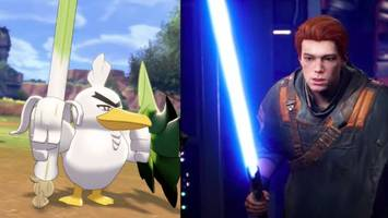 we (almost) got the 'star wars' and 'pokemon' video games we always wanted