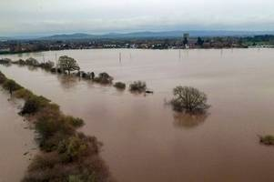 latest on flood warnings in gloucestershire as river severn levels remain high on tuesday