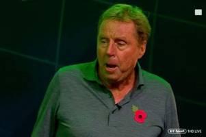 'have spoken' - harry redknapp drops tottenham next manager bombshell