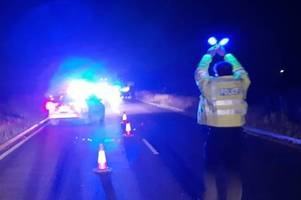 live updates as police use flares to wave down traffic after crash on a47