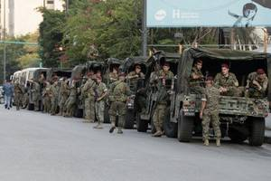 Lebanese standoff worsens as Beirut in lockdown and banks reopen