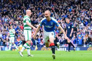 celtic vs rangers cup final is huge but defeat wouldn't derail steven gerrard's title bid insists kenny miller