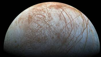 NASA Confirms Water Vapor Erupting from Europa