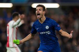 cesar azpilicueta in but christian pulisic on the bench - how chelsea could line up at man city
