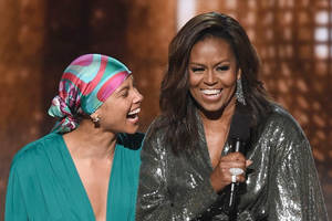michelle obama just got a grammy nomination