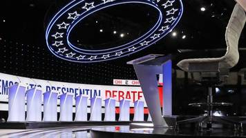 which 'qualifying polls' does the dnc use to name debate candidates?