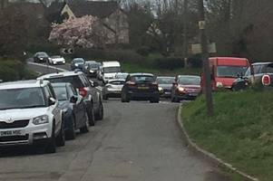 hundreds of angry commuters demand task force to sort traffic problems on a40 and a48