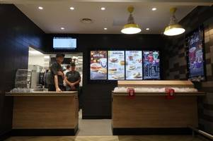 first pictures as mcdonalds opens inside asda in taunton