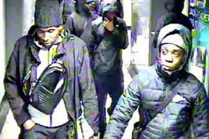 commuters warned over violent gang threatening to stab and beat passengers in london robberies