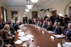 trump call 'improper,' aide testifies; gop hits his loyalty