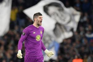 fraser forster in celtic contract vow as he reveals he has had no contact with southampton