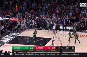 HIGHLIGHTS: Clippers win OT thriller over Celtics