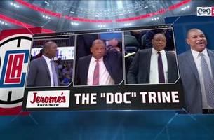 doc talks paul george & kawhi leonard | clippers live