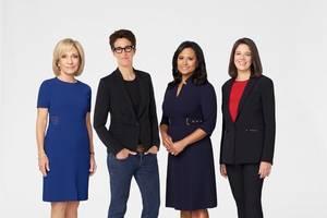 msnbc praised for all-female debate moderating team