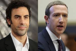 sacha baron cohen blasts mark zuckerberg: facebook's inaction against holocaust deniers is 'simply absurd'