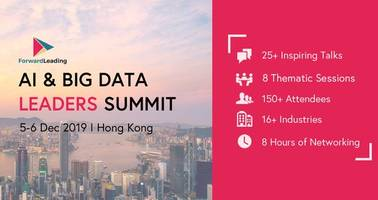 forward leading to bring together 150 data and tech leaders in hong kong on december 5 & 6