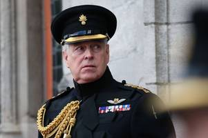duke of york 'must cooperate' with epstein sex offences investigation, says lawyer