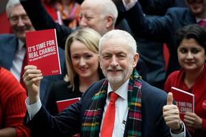 live updates as labour manifesto launched - all the election pledges from jeremy corbyn