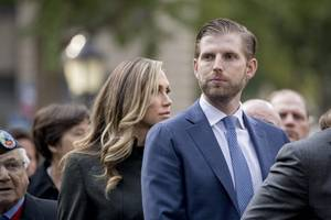 eric trump uses father's impeachment hearing to promote his wine