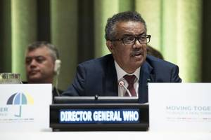 world health organization chief tedros adhanom ghebreyesus never stops worrying