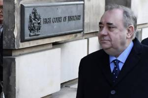 Full details of Alex Salmond's alleged sex assaults on 10 victims as ex-First Minister appears in court