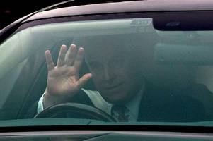 prince andrew spotted for first time after being forced to quit public life over jeffrey epstein scandal