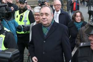 Watch Alex Salmond's statement in full as he insists he is 'innocent' of rape and sexual assault charges