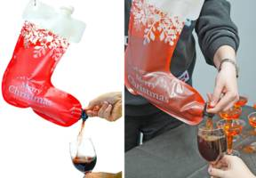 Amazon selling wine-dispensing Christmas stocking for less than £10
