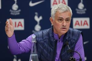 jose mourinho explains how man united players and staff reacted to his tottenham appointment