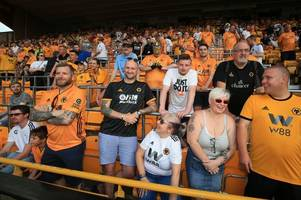 See how Wolves' average Premier League attendances compare to Liverpool, Manchester United and rivals