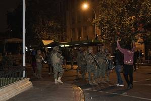 chile's president says police may have violated protocols