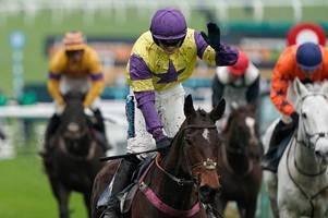 welsh jockey richard patrick enjoys big-race success on board happy diva at cheltenham