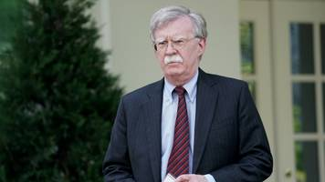 bolton says white house blocked him from his personal twitter account