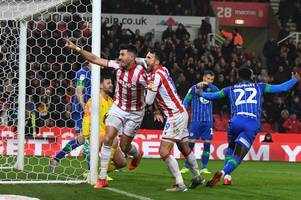 stoke city player ratings after mame wins it at the death